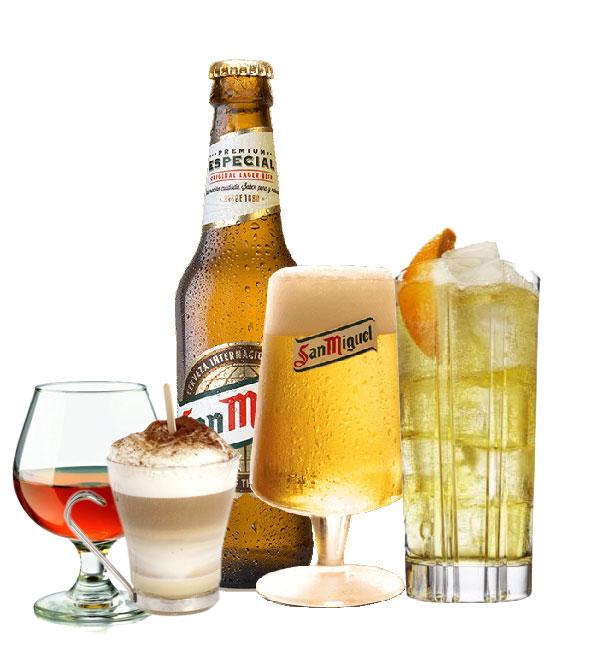 Bebidas en Vilafortuny