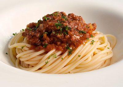 Spaguetti boloñesa