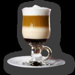 Café trifásico con nata