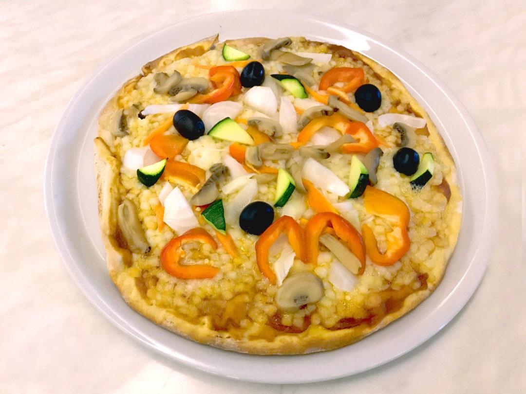Pizza vegetal Cambrils