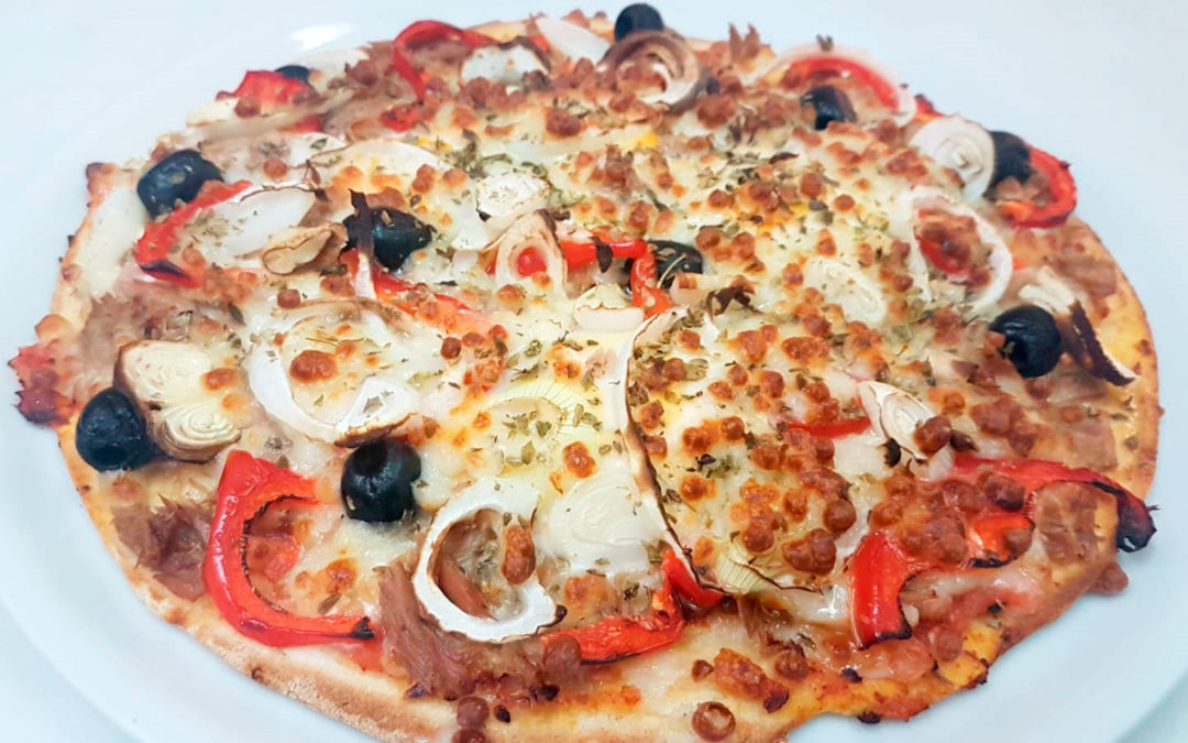 Pizza 5 estaciones